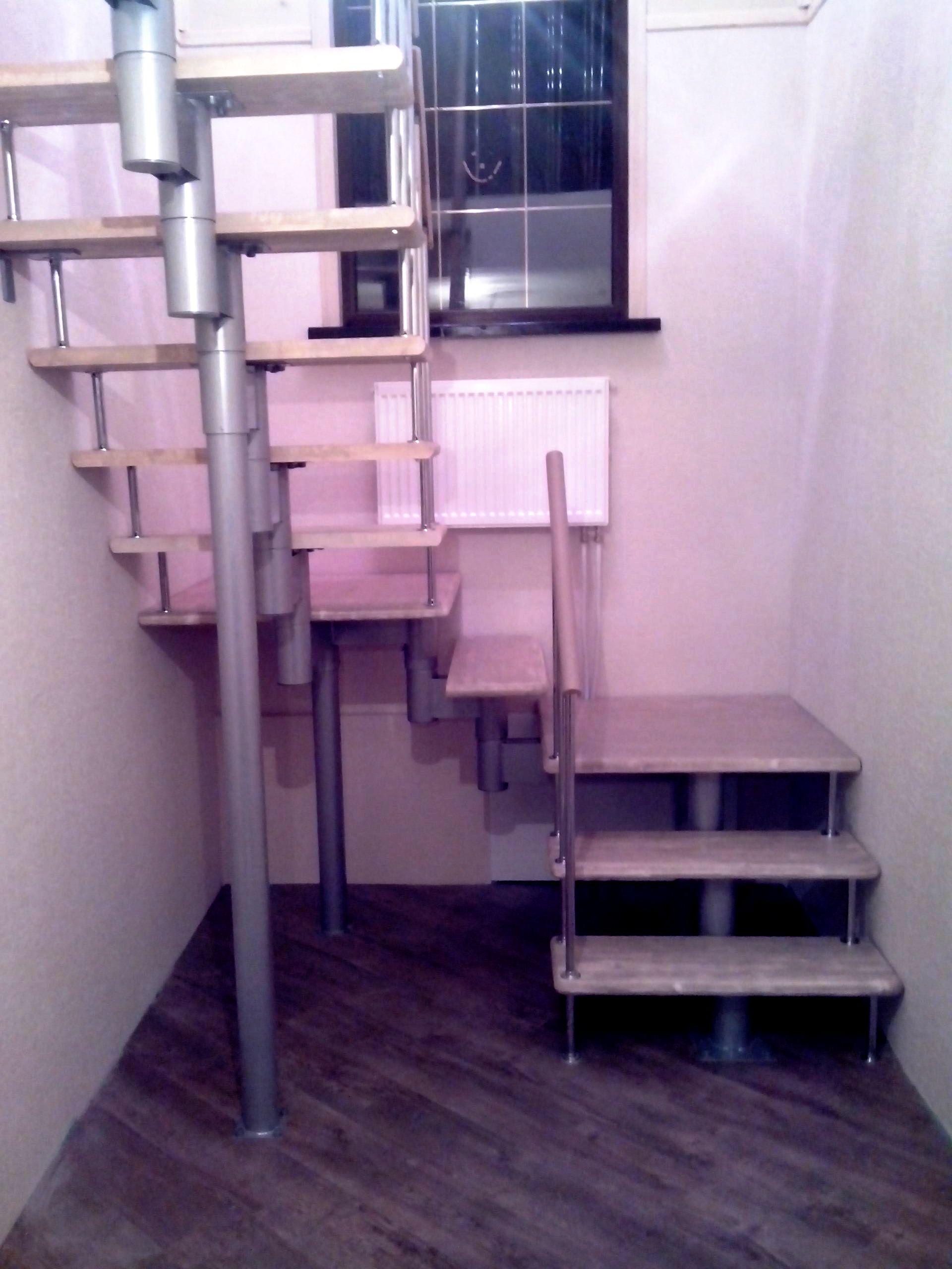 Комплектующие лестниц: поручни, перила, балясина
