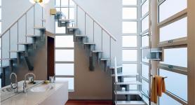 Лестницы 90 градусов