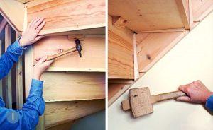 Что делать, если скрипит деревянная лестница?