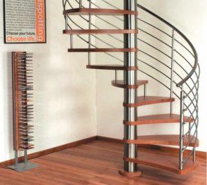 Как самому сделать деревянную винтовую лестницу
