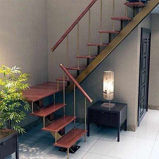 Лестница Соло с разворотом на 180 градусов