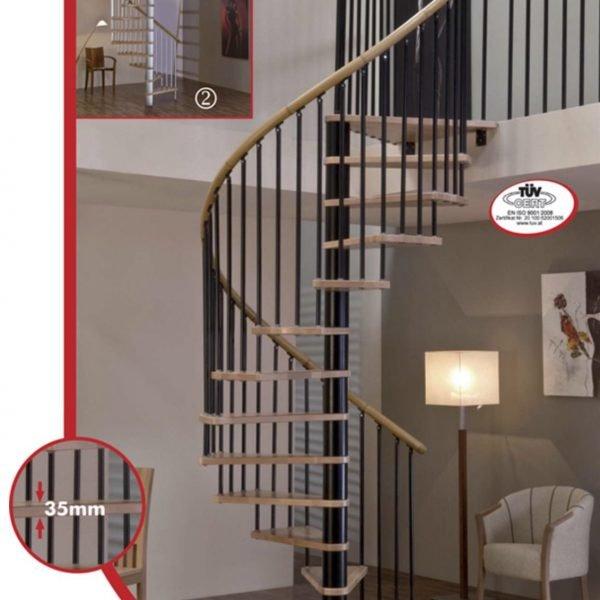 Винтовая лестница «SPIRAL DECOR»