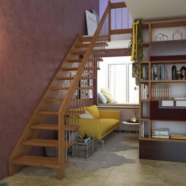 Модульная лестница на больцах «ULTRA»