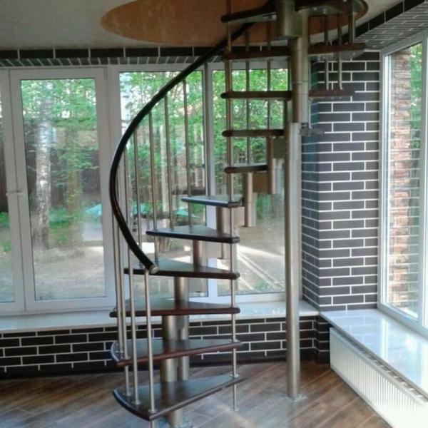 Модульная винтовая лестница
